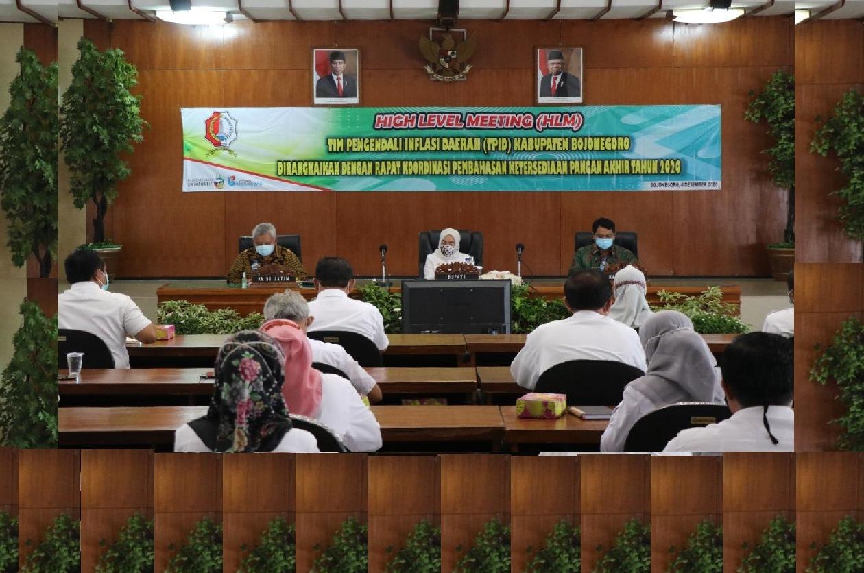High Level Meeting (HLM) Tim Pengendali Inflasi Daerah (TPID)<BR>Kabupaten Bojonegoro